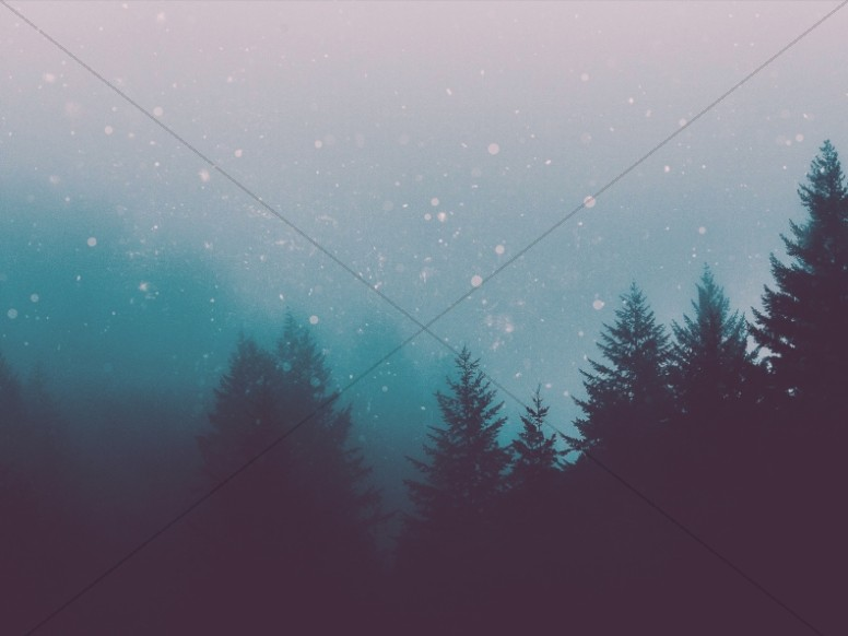 Falling Snow Wallpaper Software Christian Christmas Forest Worship Background Worship