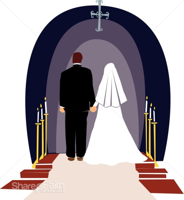 religious wedding ceremony christian