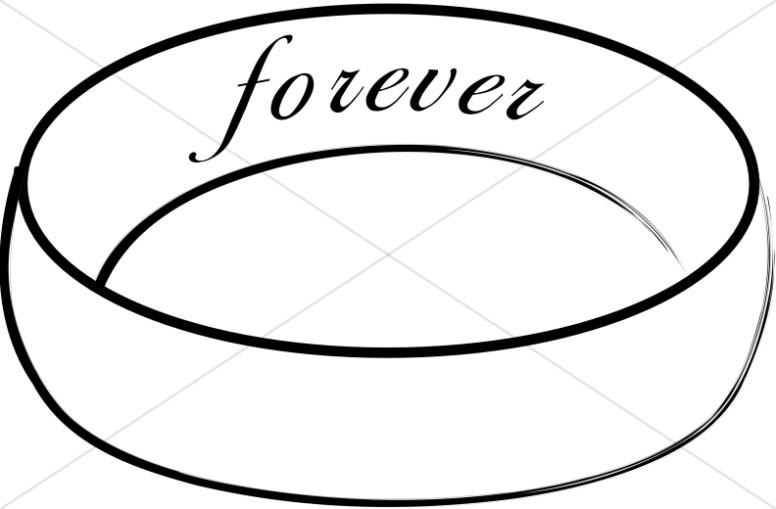 Forever Engraved On The Inside Of Wedding Band Christian