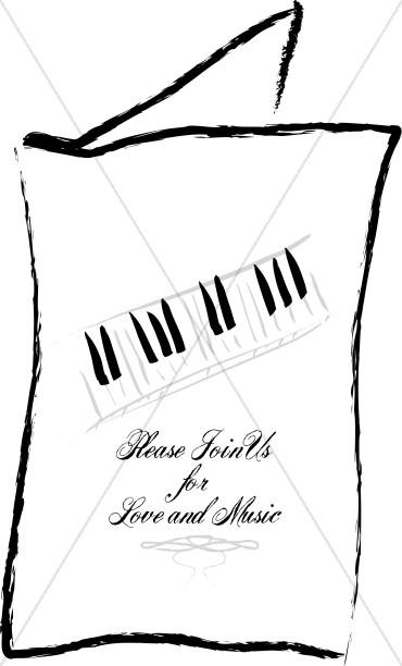 Church Music Clipart, Church Music Image, Church Music