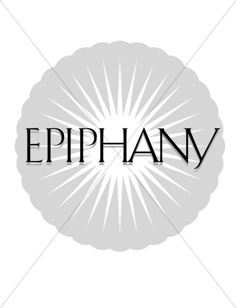 Epiphany and Star Epiphany Clipart