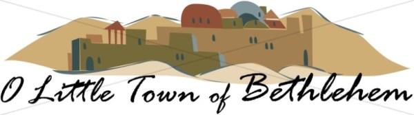 little town of bethlehem nativity