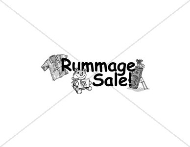 Rummage Sale with Goods