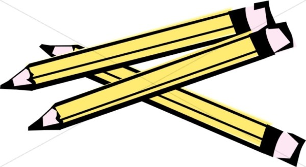 school pencil border christian