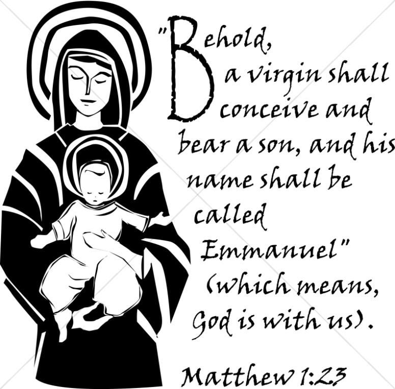 The Immaculate Conception Verse from Matthew