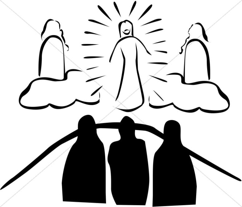 Transfiguration Clipart