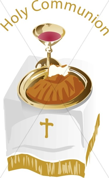 Lord's Supper Clipart : lord's, supper, clipart, Communion, Table, Clipart