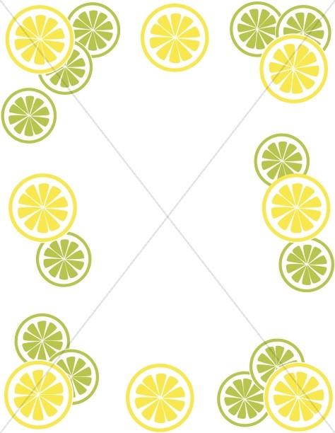 lemon lime rrefreshments summer
