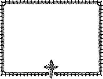 Religious Borders, Religious Border Clipart, Christian