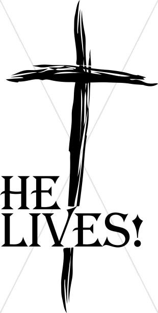 Resurrection Clipart He Lives