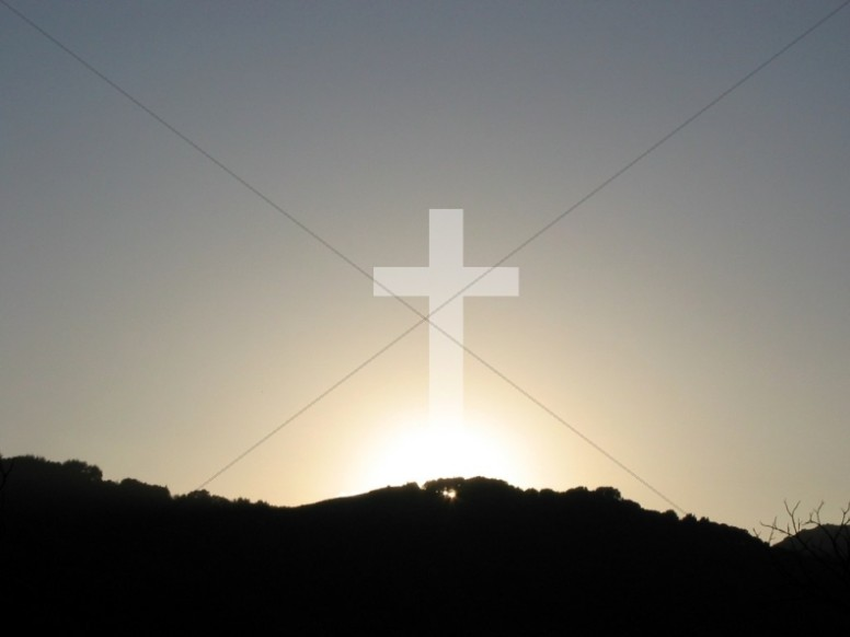 Fall Mountain Scenes Wallpaper Cross With Rising Sun Cross Backgrounds