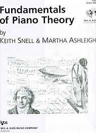 Fundamentals of Piano Theory Level 1 Sheet Music by Keith