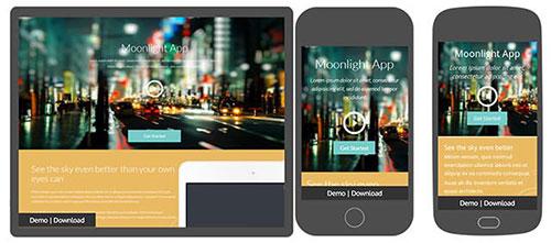moonlight-app HTML模板