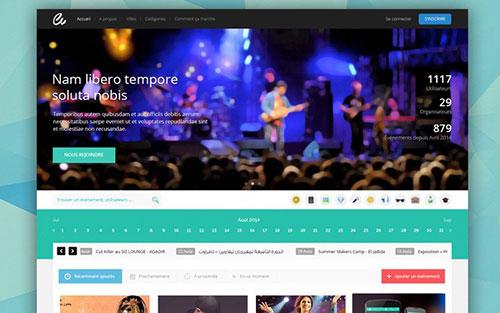 homepage website design hero image 网站首页