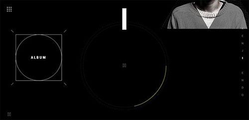 网页设计欣赏:kenji-7