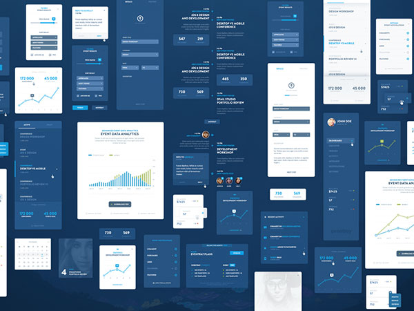 EventRay UI KIT - Free Download