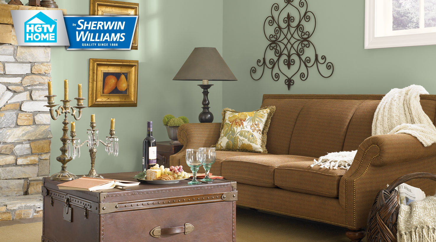 rustic paint colors for living rooms room wall decor ideas 2018 refined color collection hgtv home by sherwin williams