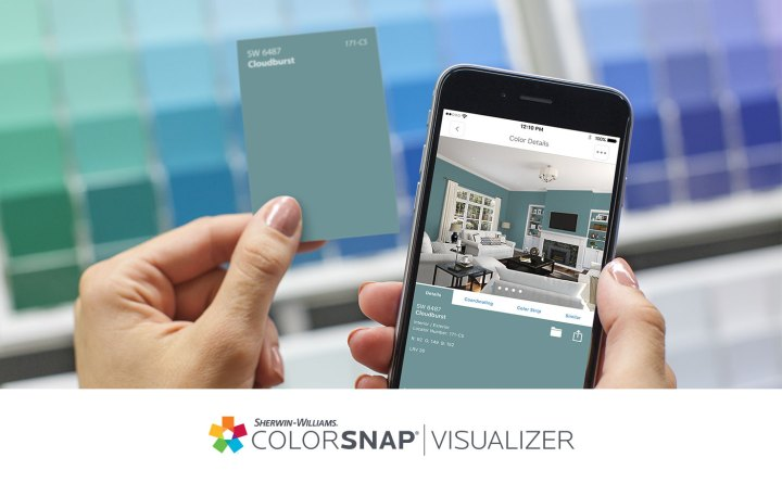 Image result for sherwin williams ar visualiser