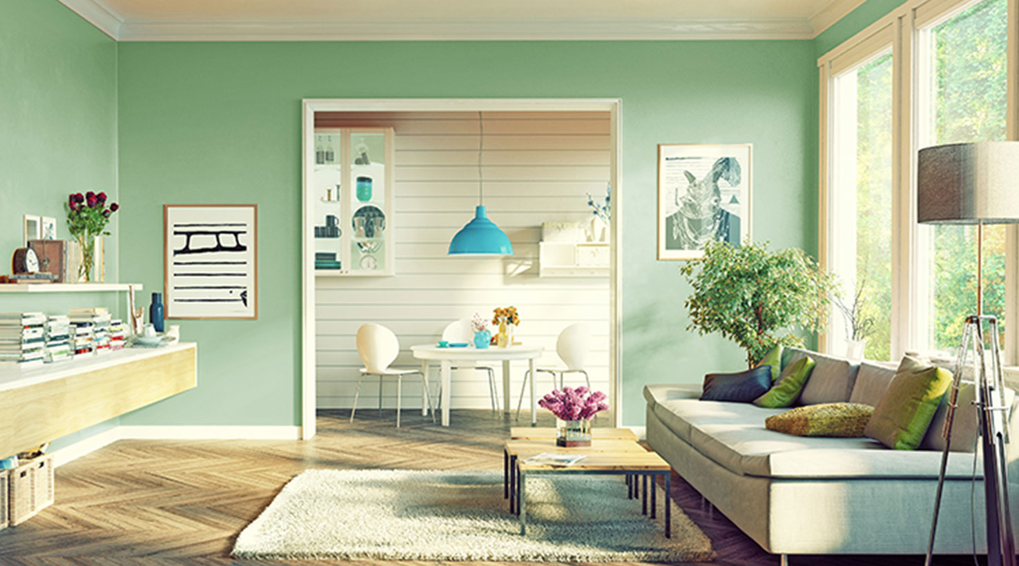 wall painting living room contemporary designs paint color ideas inspiration gallery sherwin williams greens