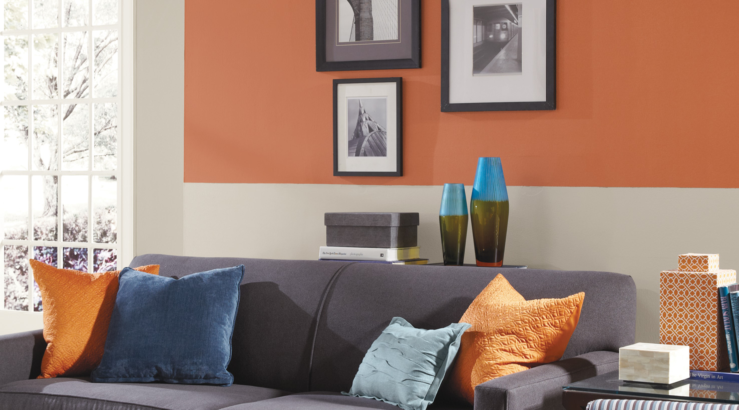 ideas for walls in living room contemporary furniture paint color inspiration gallery sherwin williams oranges