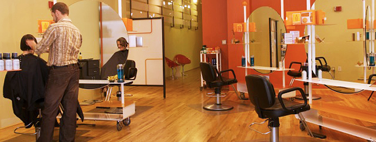 color in salons and