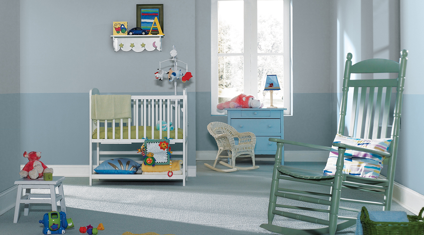 baby toddler room paint