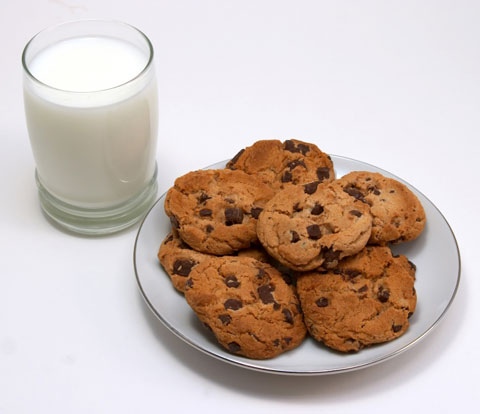Image result for Pot cookies and milk