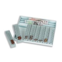 Shoplet Best Coin Counter Tray & Note Holder (Sterling ...