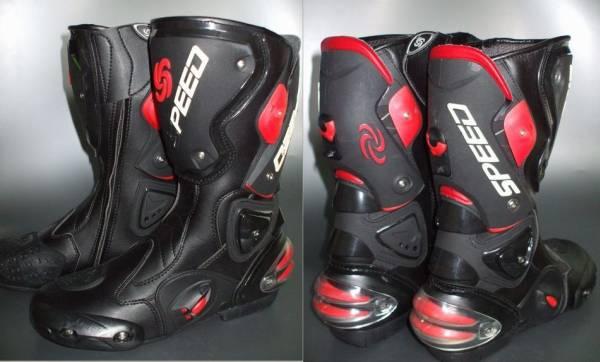 1pair Pro Biker SPEED boots motorcycle racing  Wholesale