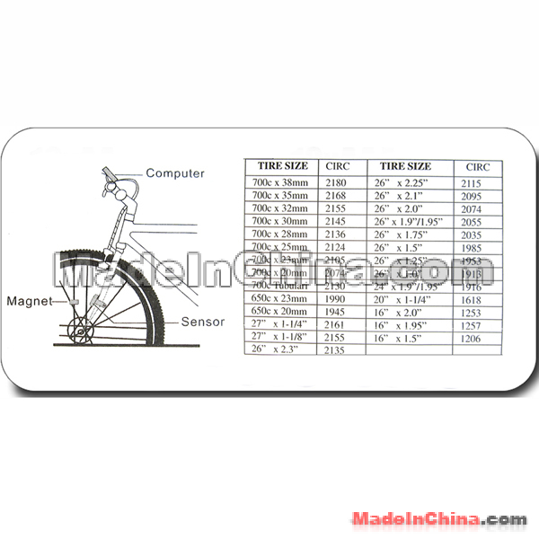 LCD Bicycle Bike Computer Odometer SD 558A