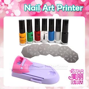 Diy Nail Art Polish Printer Ster Machine Kit 54095 Everbella