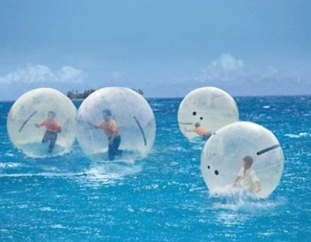 bubble ball water walking
