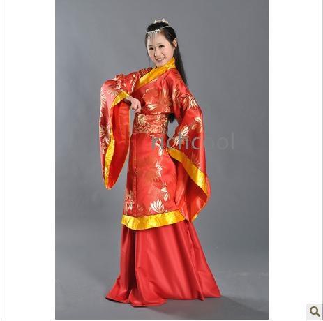 Han dynasty clothing female ancient costume hanfu