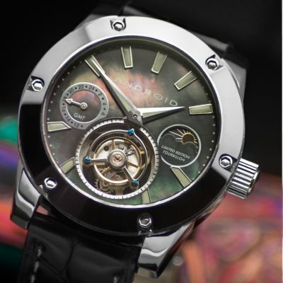 Android men s antigravity limited edition mechanical tourbillon gmt