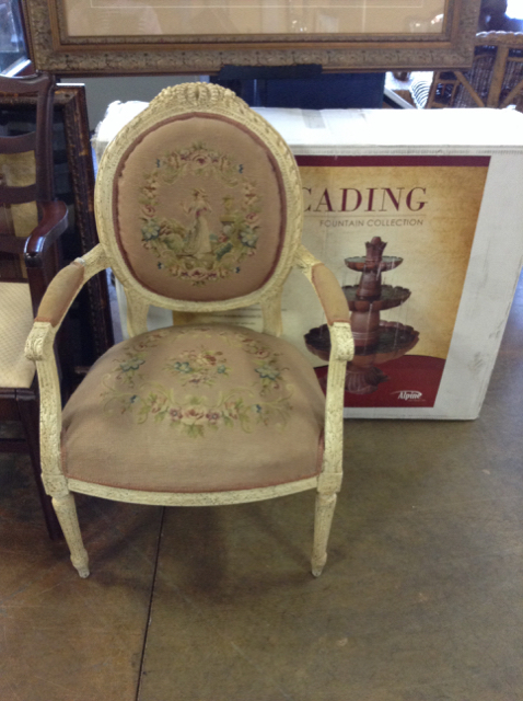 antique queen anne chair red covers vintage encore home gallery view detailed images 2
