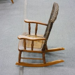 Wicker Rocking Chairs Toys R Us High Vintage Kid 39s Chair Lincoln Park Emporium