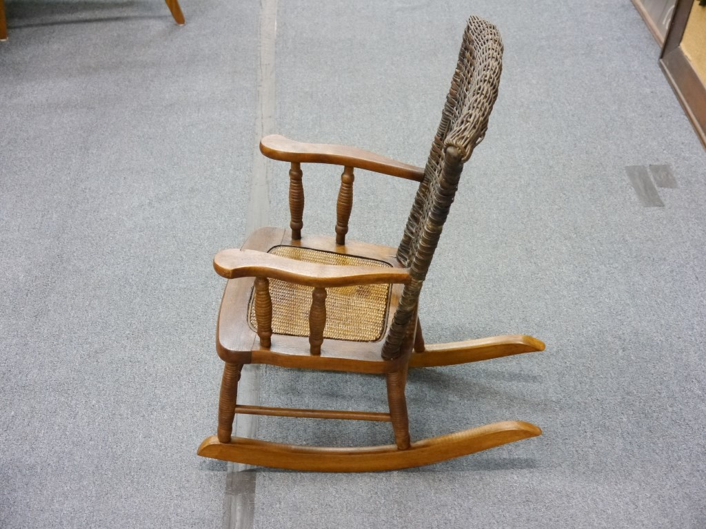 vintage wicker rocking chair hon volt review kid 39s lincoln park emporium