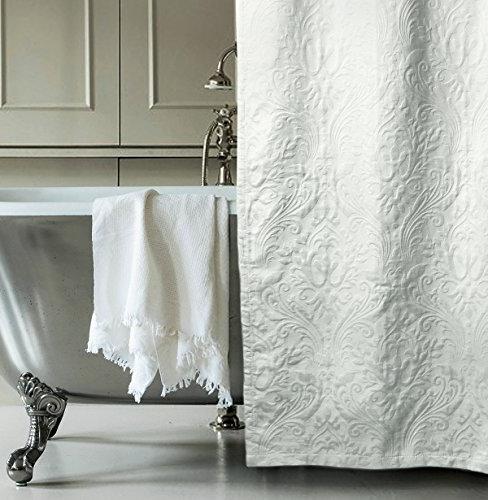 matelasse luxury shower curtain by