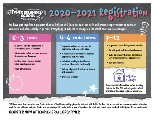 small resolution of Tyner Religious School   Temple Israel - Temple Israel