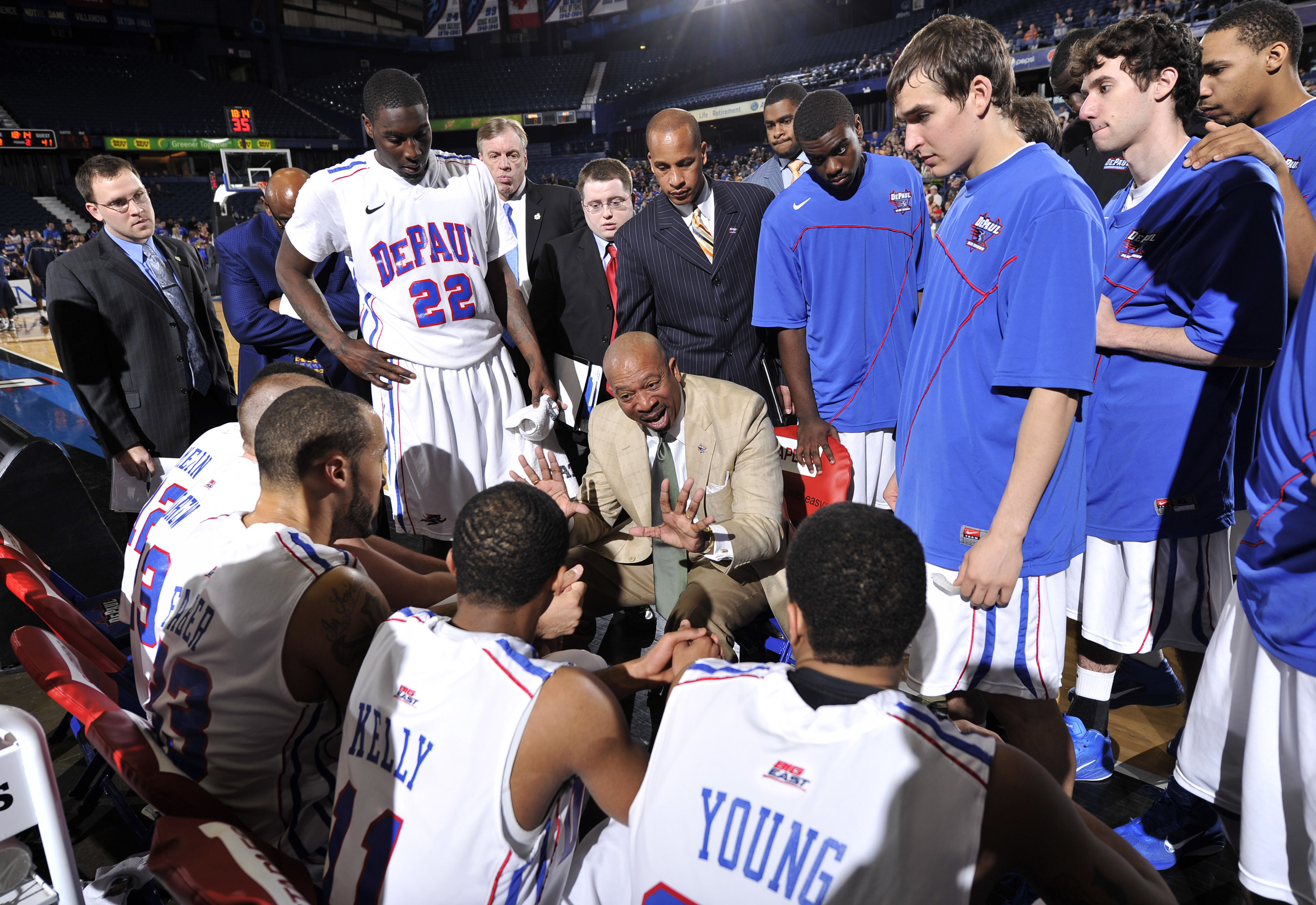 Depaul Head Coach Oliver Purnell Talks Depaul Hoops Tonight On 670 The  Score.