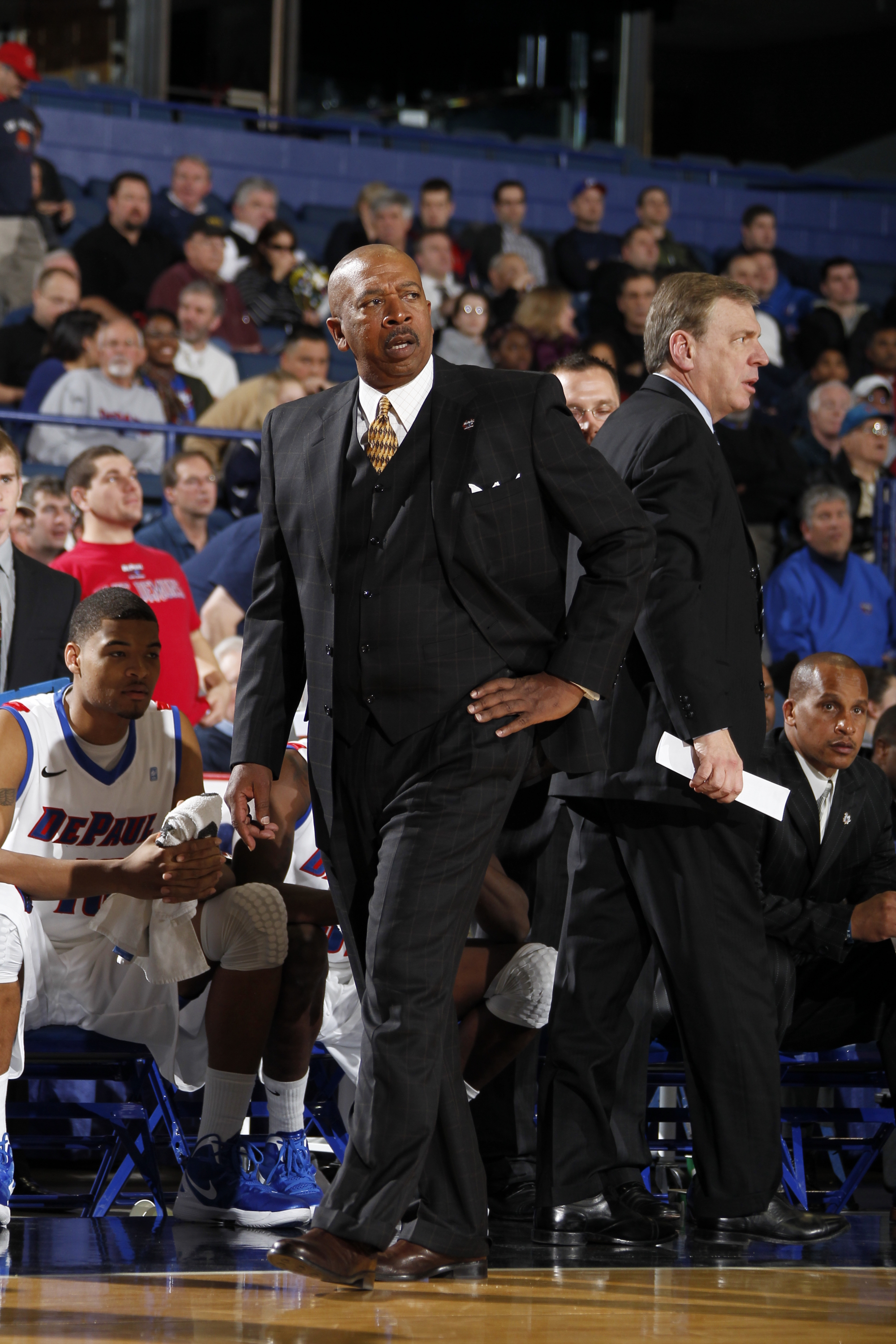 The Blue Demons Start Big East Play On Jan. 2 Against Seton Hall At Allstate