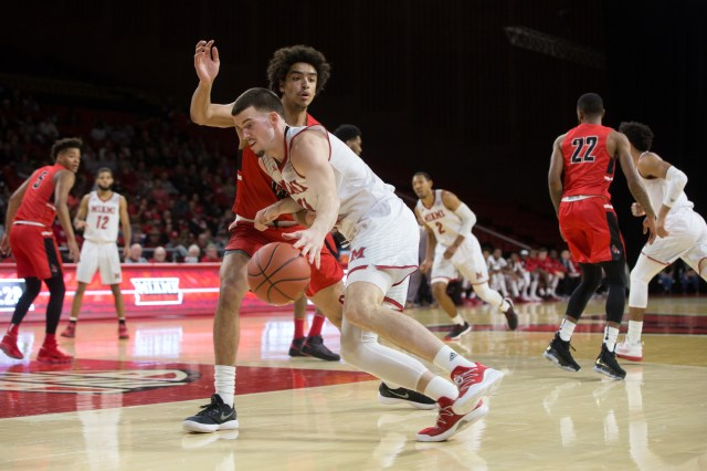 Image result for Miami (OH) Redhawks vs. Ohio Bobcats College Basketball 2019