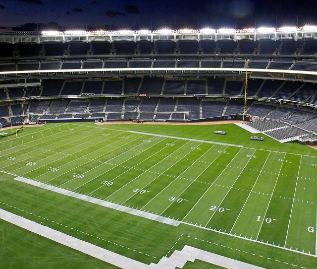 Yankee Stadium Football Field
