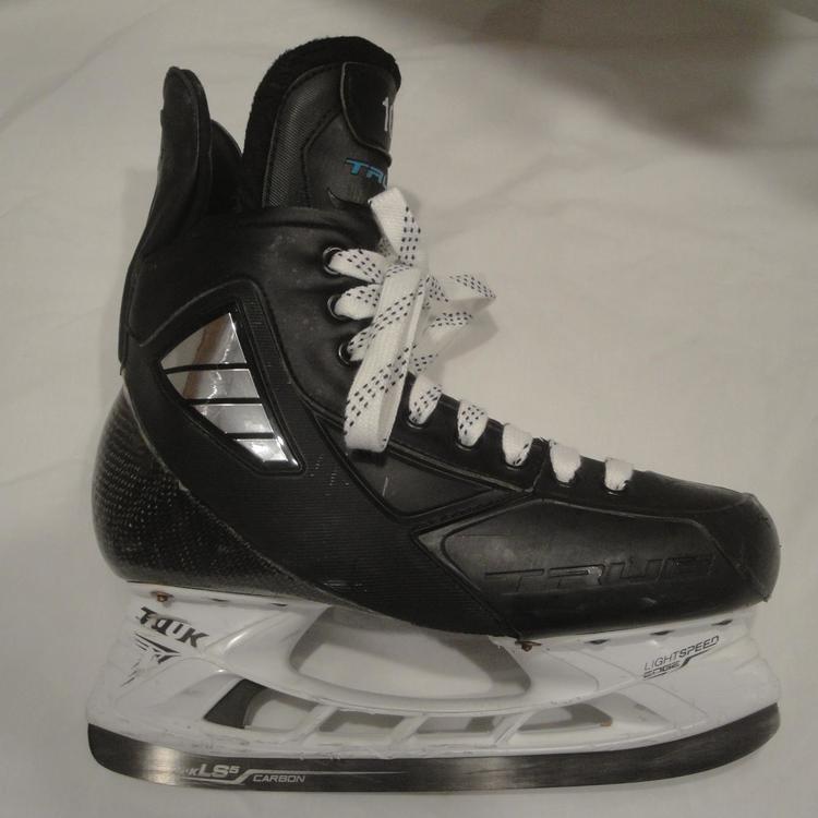 true hockey skates size