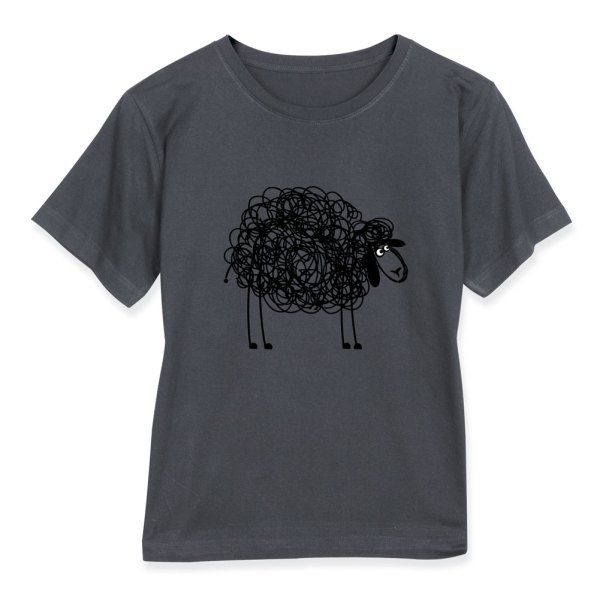 Black Sheep Ladies Short Long Sleeved T-shirt