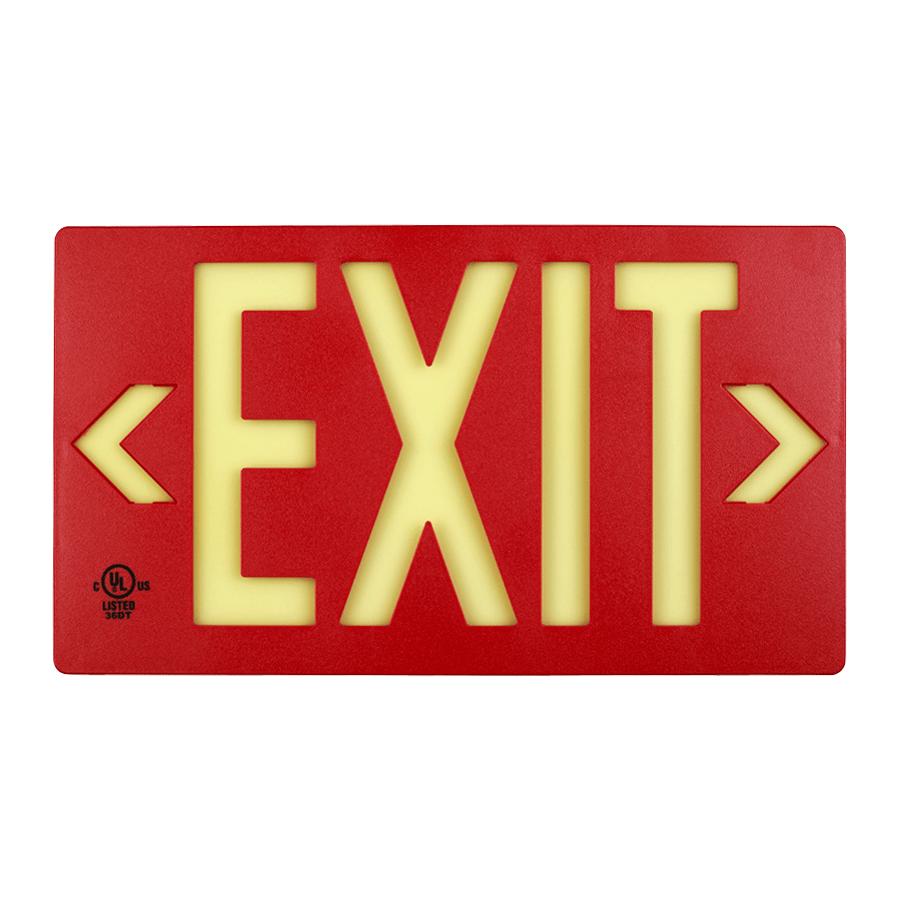 jessup globrite photoluminescent exit