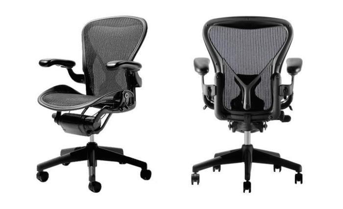 aeron chair sale office quezon city herman miller size a full posture support for in