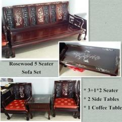 Good Sofa Sets Micasa Bettsofa Salis Sale Rosewood 5 Seater Condition For In Sungei