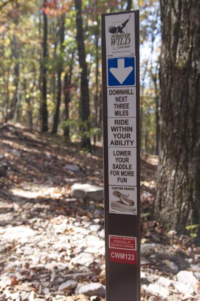 Coldwater Creek Mountain Bike Trail