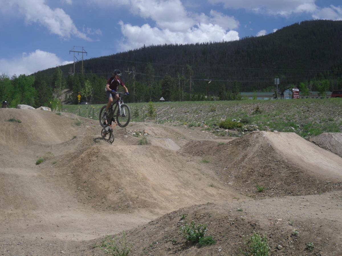 Frisco Adventure Park Mountain Bike Trail in Frisco. Colorado    SINGLETRACKS.COM